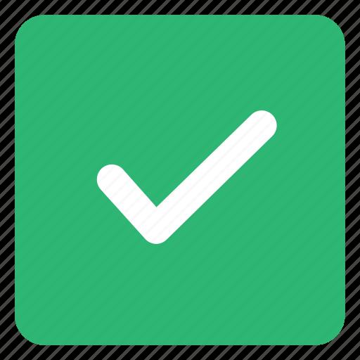 check, done, ok, tick icon