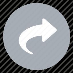 load, next, redo, right icon