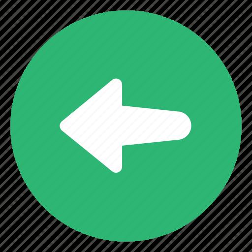 Arrow, back, left icon - Download on Iconfinder