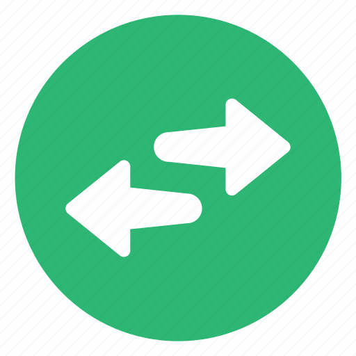 arrows, exchange, left, right, switch icon