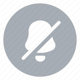 mute, off, ringer icon
