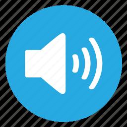 loud, speaker, volume icon