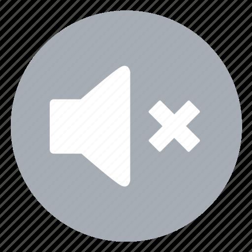 mute, silent, speaker, volume icon