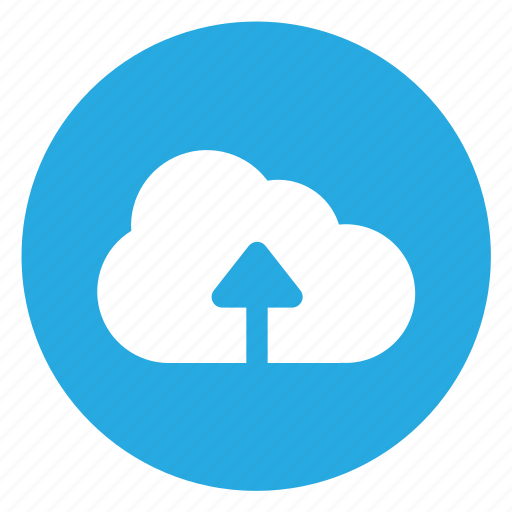 cloud, file, upload icon