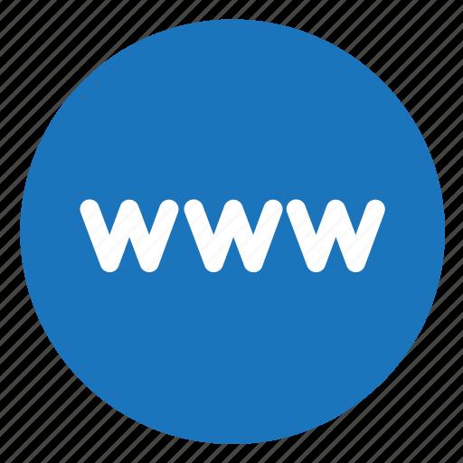 internet, webpage, website, www icon
