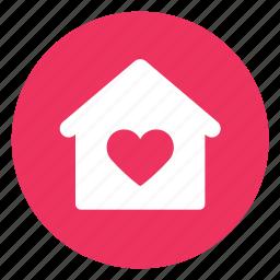 favorite, home icon