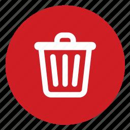 remove, trash icon