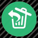 restore, trash, undelete icon