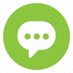 chat, comment, typing icon