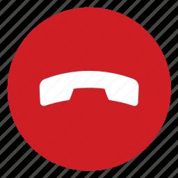 call, hang, phone icon