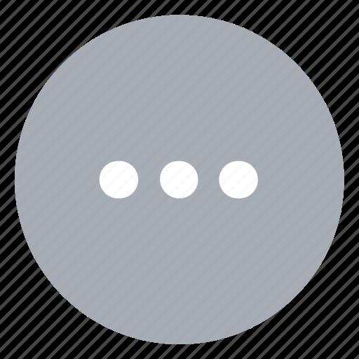 Menu, more icon - Download on Iconfinder on Iconfinder