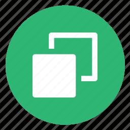 copy, popup, windows icon