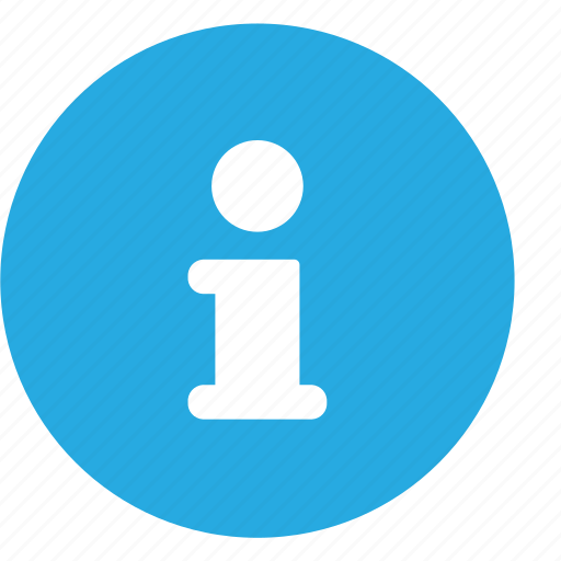 about, info icon