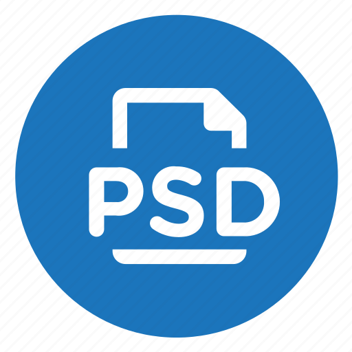 photoshop, psd icon
