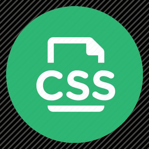 css, styles icon