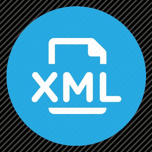 export, xml icon