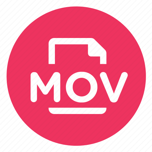 mov, movie, video icon