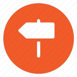 directions, path icon