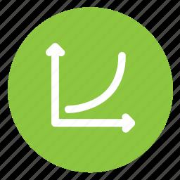 chart, statistics, stats icon
