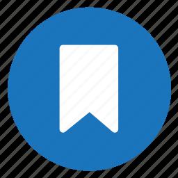 bookmark, read icon