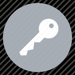 key, locked, password, pin icon