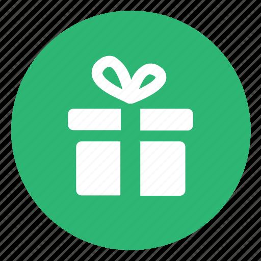 free, gift, wrap icon