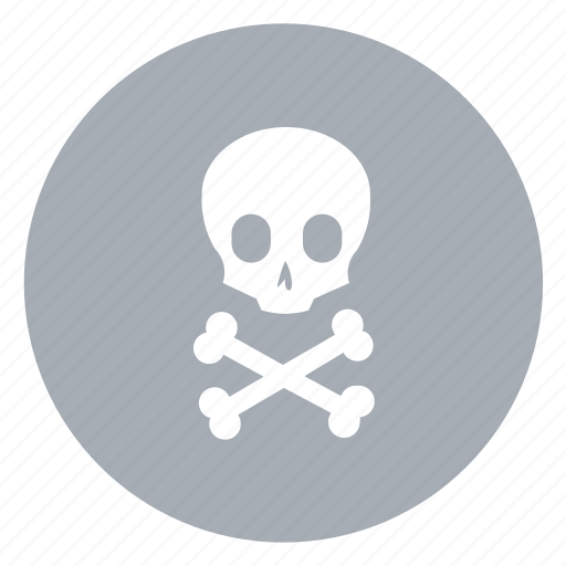 dangerous, death, poison icon