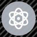atom, molecular icon