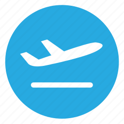airport, departure, flight icon