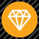 achievement, award, diamond, sketch