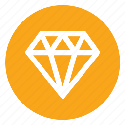 achievement, award, diamond, sketch icon