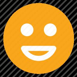 emoji, face, smiley icon