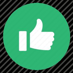 easy, like, up, upvote, vote icon