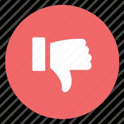 dislike, down, vote icon