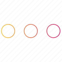 context, dots, gradient, interface, menu, more, ui icon