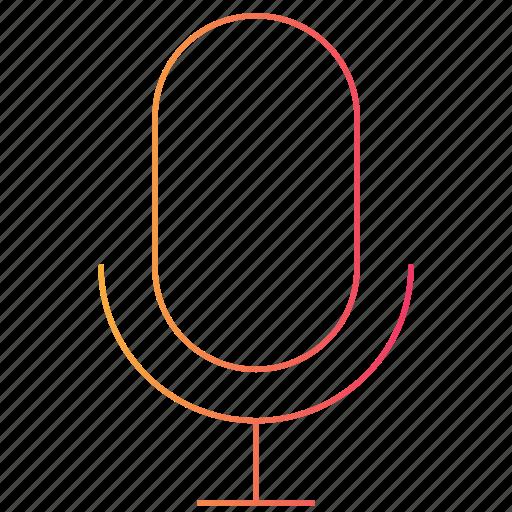 interface, listen, mic, microphone, record, ui icon