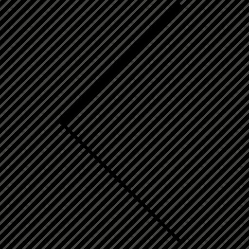 arrow, direction, gradient, interface, left, ui, web icon