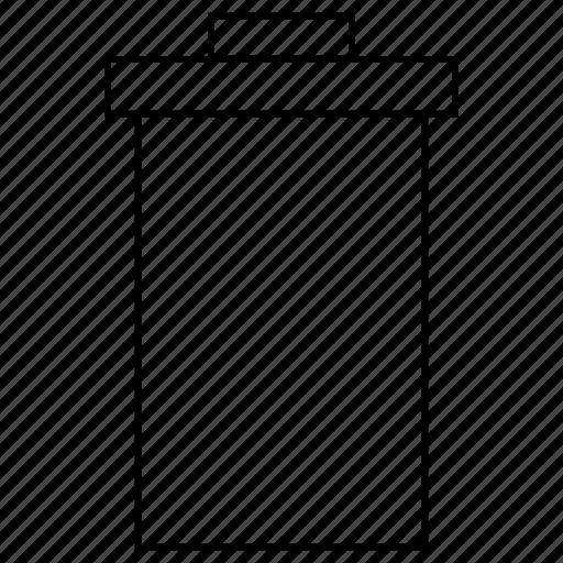 bin, gradient, interface, recycle, remove, trash, ui icon