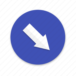 compass, direction, interface, material design, north, south icon