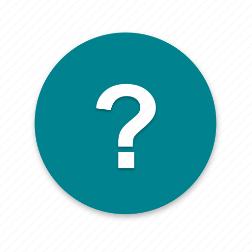 answer, idea, interface, material design, question icon