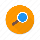 interface, magnify, material design, search, seo icon