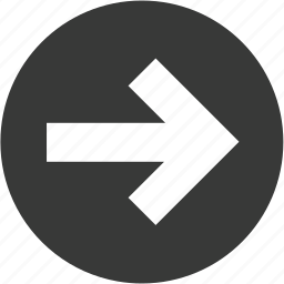 arrow, arrows, circle, direction, next, right icon