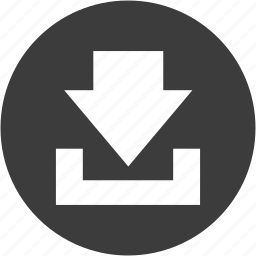 arrow, down, downarrow, download, downloads, move icon