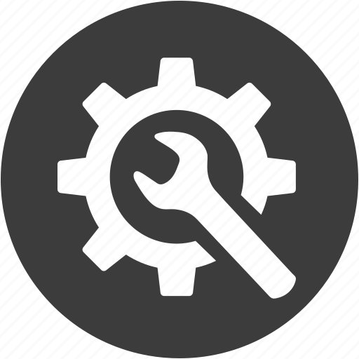 configuration, control, gear, preferences, repair, setting, system icon