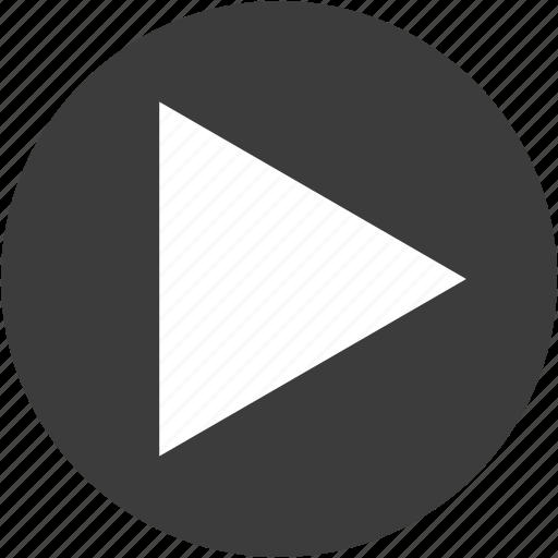 Media Play Playbutton Player Resume Resumebutton Sound Icon