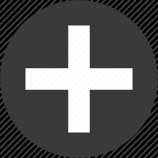 add, append, circle, create, new, plus icon