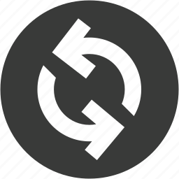 circle, exchange, refresh, reload, repeat, sync, update icon