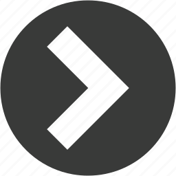 arrow, circle, direction, forward, move, next, right arrow icon