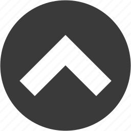 arrow, arrows, circle, direction, high, raise, up icon