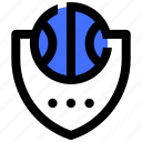 ball, basket, basketball, emblem, game, sport icon